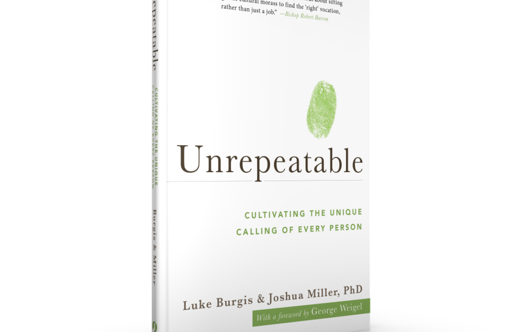 "Book Review: ""Unrepeatable: Cultivating the Unique Calling of Every Person"""